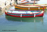 Barques catalanes à Collioure - Photo prise en Janvier 2005 par Ph. DELAVAQUERIE.
